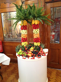 Fruit Palm Arrangement for Hire - Manchester