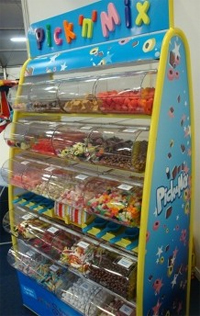 Pick 'n' Mix Sweets Stand for Hire in Manchester and the North West