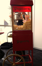 Popcorn cart for hire Manchester