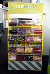 Personalised Pick 'n' Mix Sweets Stand for Hire in Manchester and the North West