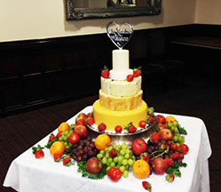 Cheese Tower for Wedding Catering - Leeds