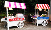 Hot Food & Dessert Carts for Party Hire in Chester