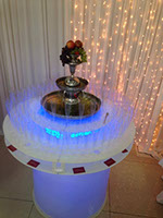 Champagne & Drinks Fountain for hire in Manchester from Delicious Fruits & Fountains