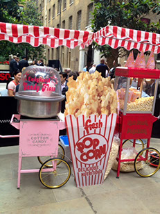 Popcorn & Candy Floss combo for Weddings in Manchester