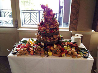 Pork Pie Towers at Manchester Wedding