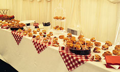 Fresh Scones, Jam and Clotted Cream for Special Events