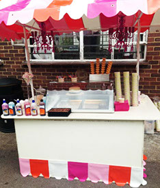 Fully equipped Scoop Ice Cream stand for hire